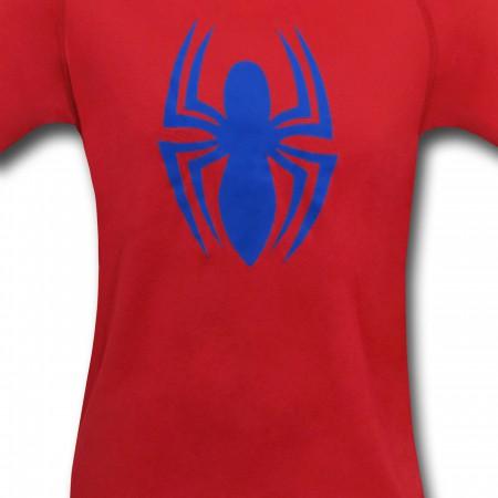 Spiderman Symbol Under Armour Loose T-Shirt