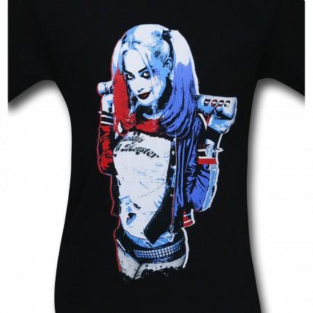 Suicide Squad Harley Quinn Bat T-Shirt