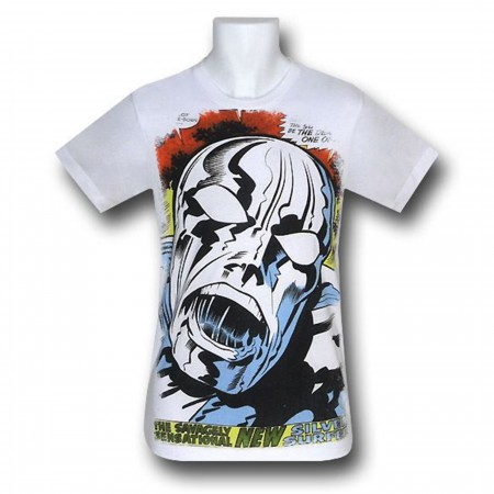 Silver Surfer BIG Kirby Face 30 Single T-Shirt