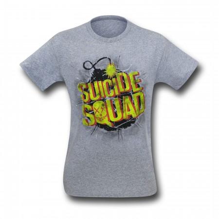 Suicide Squad Vintage Bomb Men's T-Shirt