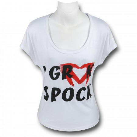 Star Trek Grock Spock Women's T-Shirt