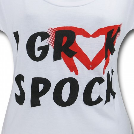 Star Trek Grock Spock Women's T-Shirt