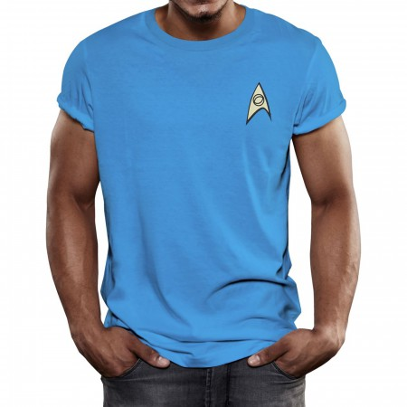 Star Trek Science Uniform T-Shirt