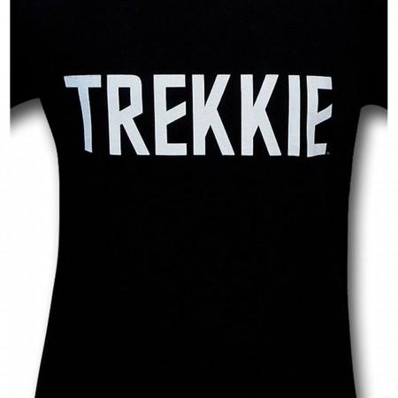 Star Trek Trekkie Black T-Shirt