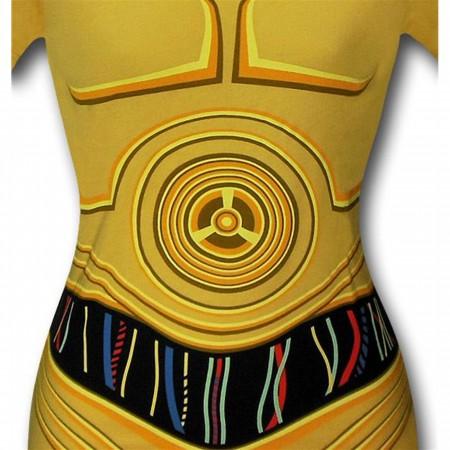 Star Wars C3PO Costume Women's T-Shirt