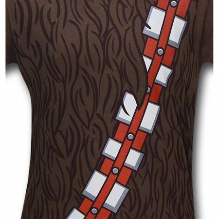 Star Wars Chewbacca Costume 30 Single T-Shirt