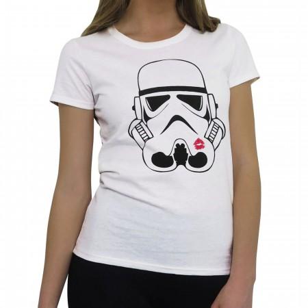 Stormtrooper Kiss Women's T-Shirt