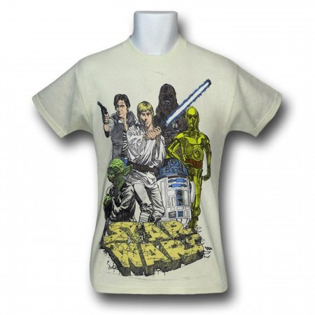 Star Wars Sketch Kids T-Shirt