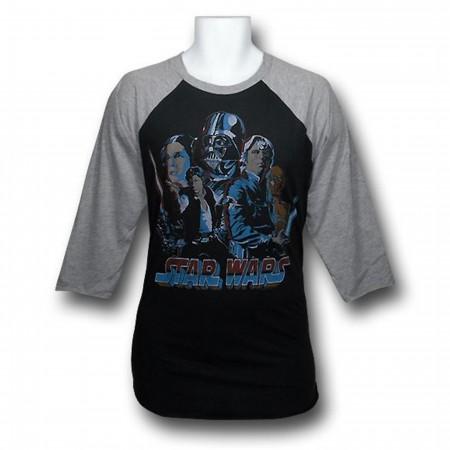 Star Wars Junk Food Raglan T-Shirt