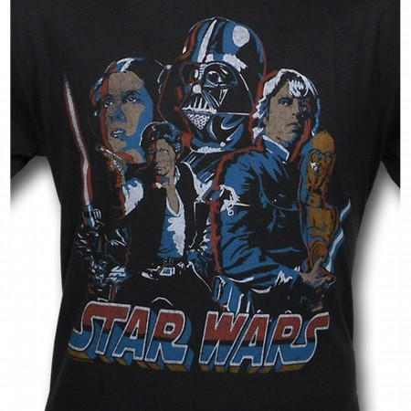 Star Wars Rogues & Jedi Junk Food T-Shirt