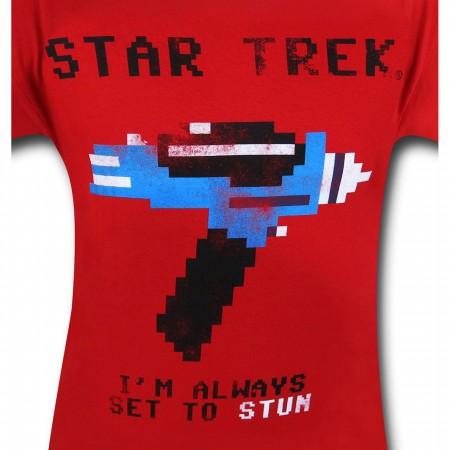 Star Trek Set To Stun T-Shirt