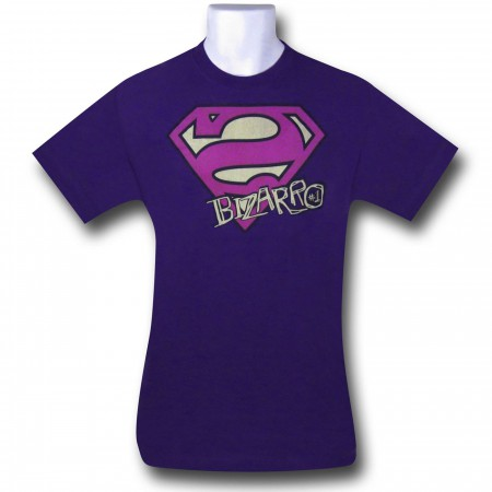 Superman Bizarro Shield and Scrawl T-Shirt