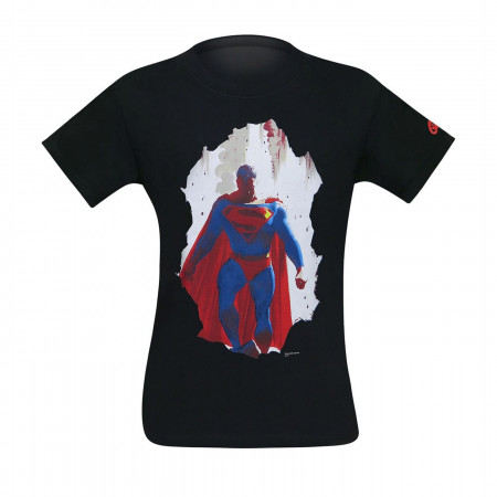 Superman Breakout by Alex Ross Men's T-Shirt
