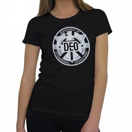 Supergirl DEO Symbol Women's T-Shirt