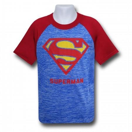 Superman Classic Symbol Space Dye T-Shirt