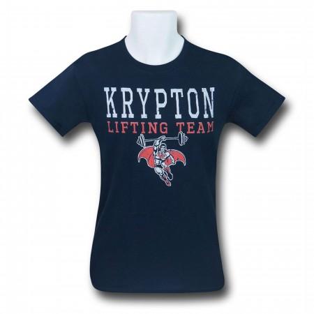 Superman Krypton Lifting Team Men's T-Shirt