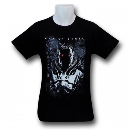 Superman Man of Steel Zod Eyes T-Shirt
