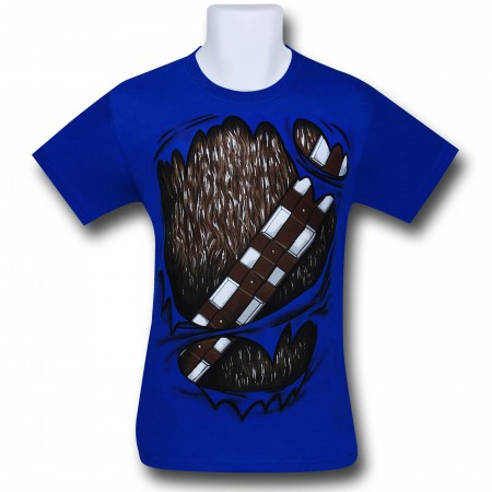 Star Wars Chewbacca Rip Through 30 Single T-Shirt