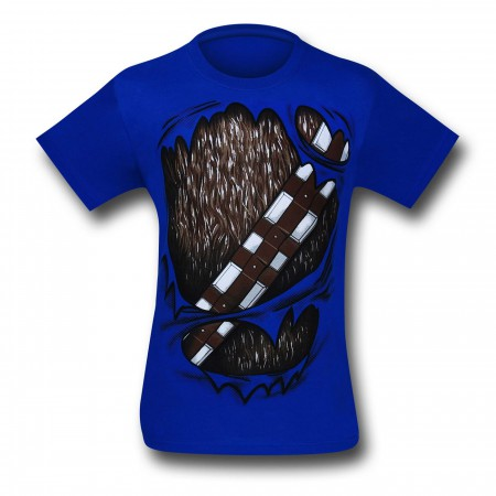 Star Wars Chewbacca Rip Through 30 Single T-Shirt