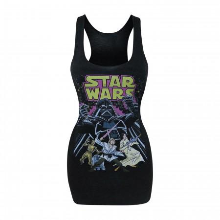 Star Wars Comic Wars Women's Tank Top