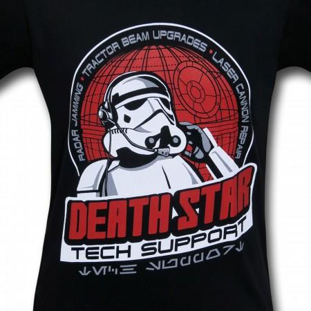 Star Wars Death Star Tech Support T-Shirt