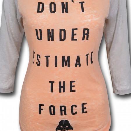 Star Wars D.U.T.F Women's Baseball T-Shirt