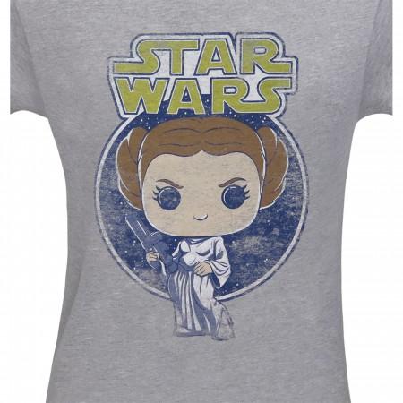 Funko Pop Star Wars Princess Leia Men's T-Shirt
