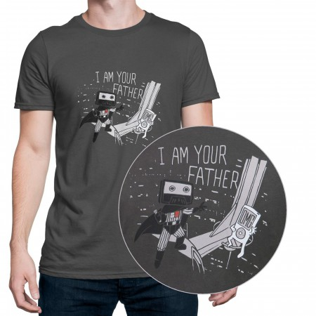 I Am Your Father Cassette Men's T-Shirt