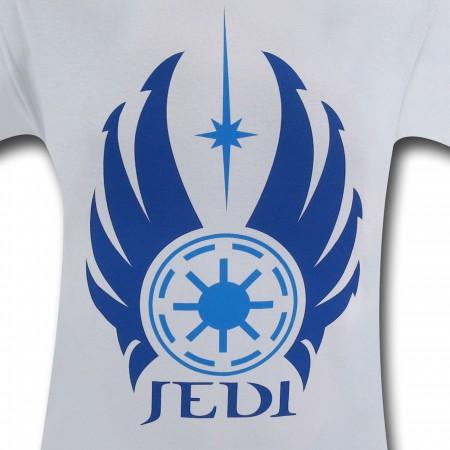 Star Wars Jedi Symbol Silver T-Shirt