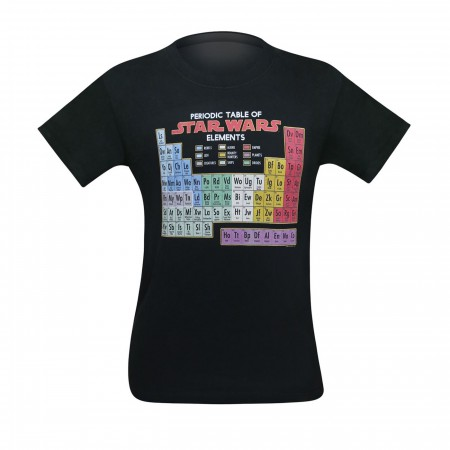 Star Wars Periodic Table of Elements Men's T-Shirt