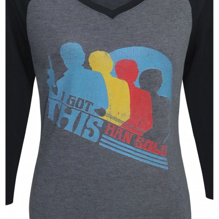 Star Wars Solo Got This Women's Baseball T-Shirt