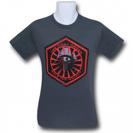 Star Wars Force Awakens First Order Symbol T-Shirt