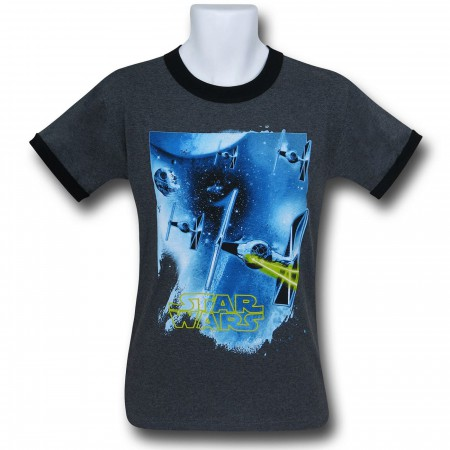 Star Wars TIE Fighter Ringer T-Shirt