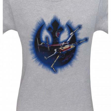 Star Wars X-Wing Rebel Frame Men's T-Shirt