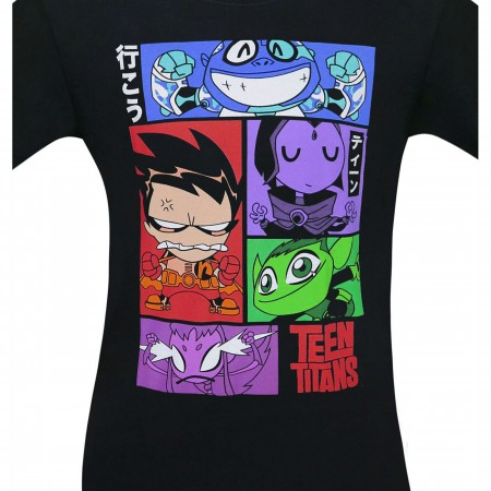 Teen Titans Go Kanji Men's T-Shirt