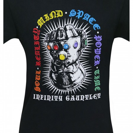 Inifinity War Infinity Gauntlet Men's T-Shirt