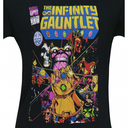 The Infinity Gauntlet #1 Comic Cover Men's T-Shirt