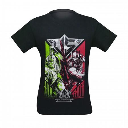 Thor Ragnarok Vs Hulk Youth T-Shirt