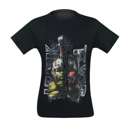 Hulk Vs Thor Ragnarok Men's T-Shirt