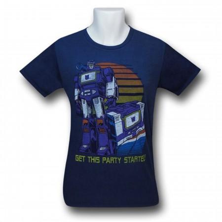 Transformers Soundwave Party Junk Food T-Shirt