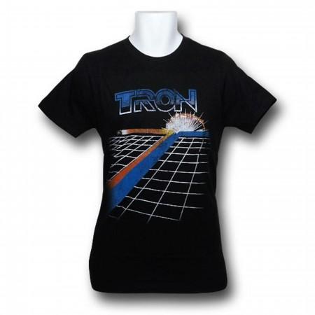 Tron Light Bikes Trail 30 Single T-Shirt
