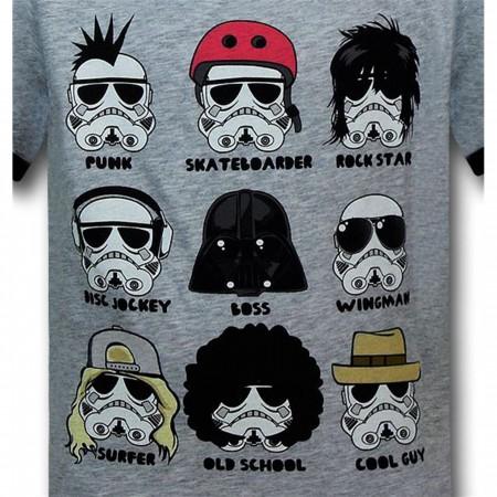 Star Wars Kids Silly Trooper Ringer T-Shirt