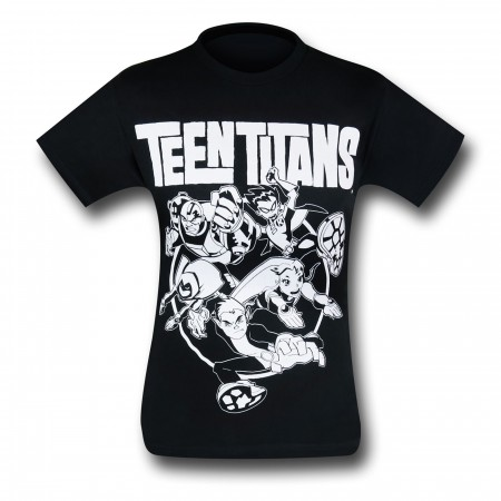 Teen Titans Circle T-Shirt