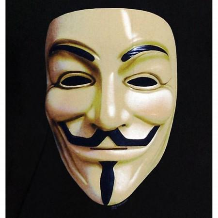 V For Vendetta Guy Fawkes Mask T-Shirt
