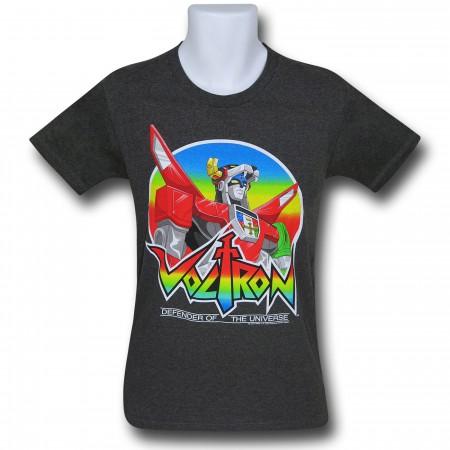 Voltron Stance Grey 30 Single T-Shirt