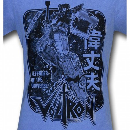 Voltron Japanese Defender of Universe T-Shirt