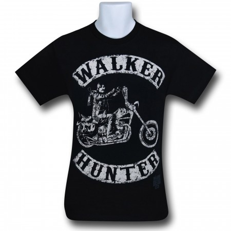 Walking Dead Walker Hunter Bike T-Shirt