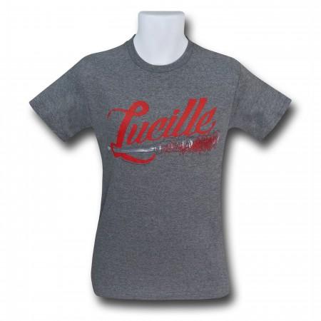 Walking Dead Lucille The Baseball Bat Men's T-Shirt