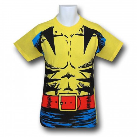 Wolverine Retro Muscle Costume T-Shirt