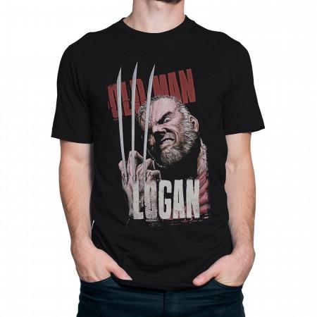 Wolverine Old Man Logan Claws Men's T-Shirt